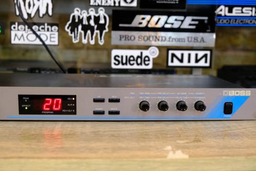 BOSS RV-70 รีเวิร์ปเอฟเฟคร้อง เสียงดีขั้นเทพ หนา กังวาน ปรับง่าย เวทีลูกทุ่ง/ลำซิ่ง(MADE IN JAPAN)