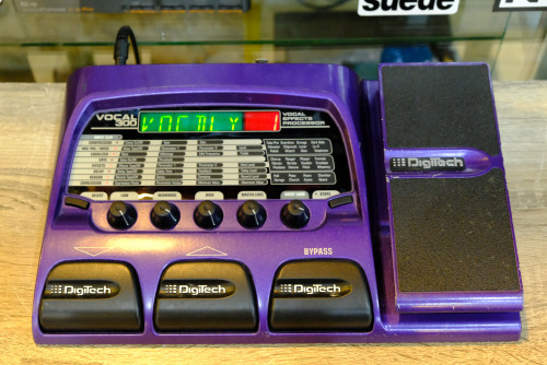 DigiTech VOCAL300 เอฟเฟคไมค์ร้องแบบเหยียบ นักร้องคุมเสียงเอง 24เอฟเฟค ซาวด์24บิต เซฟผสมเสียงได้40เสี