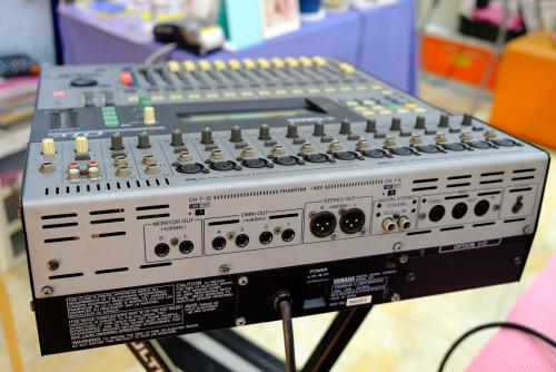 YAMAHA O1V Digital Mixer (MADE IN JAPAN) พร้อมฮาร์ดเคสJAPANตัวเดียวจบ อีคิว คอมพ์เอฟเฟคในตัว เสียงดี 3