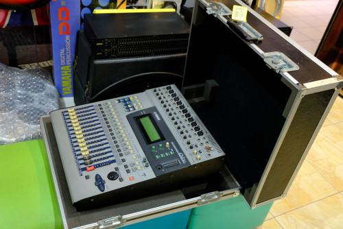 YAMAHA O1V Digital Mixer (MADE IN JAPAN) พร้อมฮาร์ดเคสJAPANตัวเดียวจบ อีคิว คอมพ์เอฟเฟคในตัว เสียงดี