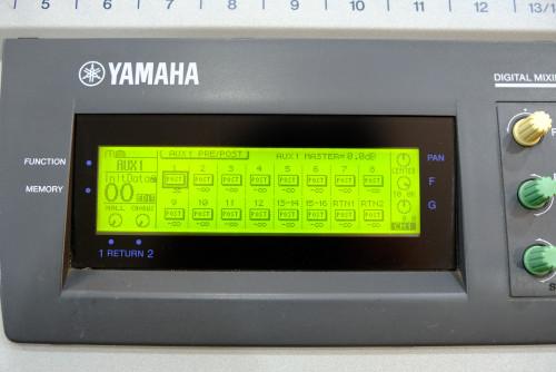 YAMAHA O1V Digital Mixer (MADE IN JAPAN) พร้อมฮาร์ดเคสJAPANตัวเดียวจบ อีคิว คอมพ์เอฟเฟคในตัว เสียงดี 2