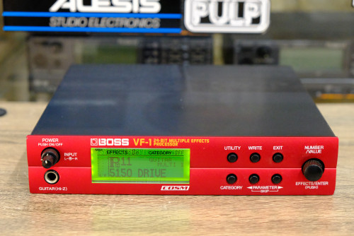 BOSS VF-1 (MADE IN JAPAN) 24Bit มัลติเอฟเฟค ใช้ได้ทั้งไมค์และเครื่องดนตรี  มี400เสียง