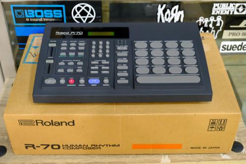 ใหม่เอี่ยม พร้อมกล่อง Roland R-70 (MADE IN JAPAN) ตัวนี้ใหม่มาก ลงจังหวะไทยแล้ว อะแด๊ป คู่มือไทยครบ 2