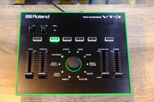 Roland VT-3 Voice Transformer เปลี่ยนเสียงพูดและเสียงร้อง