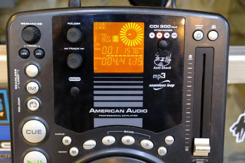 American Audio CDI300 CD & MP3 Professional CDJ 1