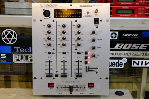 มิกเซอร์ดีเจ BEHRINGER PRO MIXER DX626 DJ Mixer