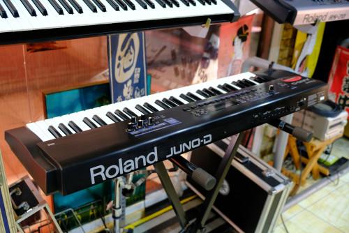 JUNO-D Limited Edition (MADE IN JAPAN) อัพเกรดเพิ่มเสียงใหม่อีก 66 เสียงจากรุ่นปกติ พร้อมกระเป๋าJUNO 4