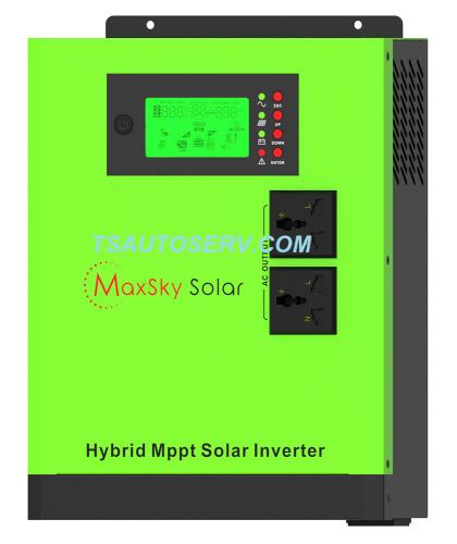 hybrid MPPT solar inverter XM 2400-24 MaxSky Solar
