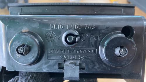 ที่เขี่ยบุหรี่หลัง BMW E36 6