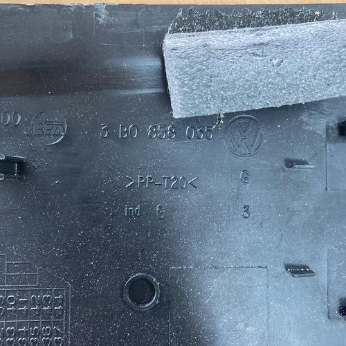 VW PASSAT B5.5 2.3 V5 ฝาปิดกล่องฟิวส์ปลายแดชบอร์ด L R 4