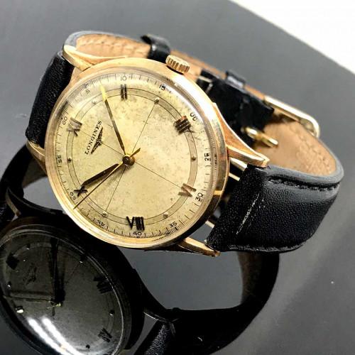LONGINES Classic 1950 ไขลาน 14k Solid Gold Unisex Size 32 mm.