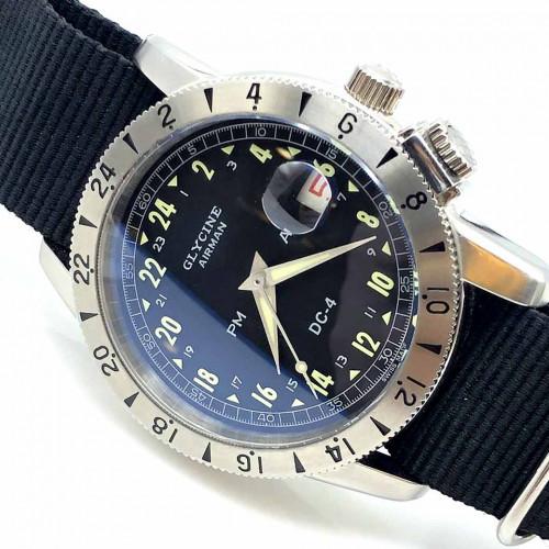 GLYCINE Airman DC-4 Purist Automatic Men's Watch ขนาด 42 mm. (Fullset)