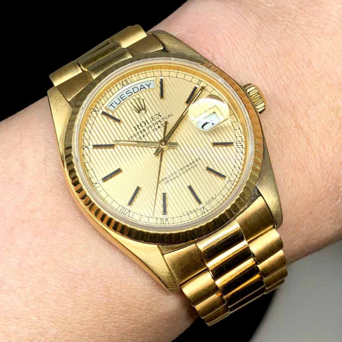 ROLEX Oyster Day-Date 18038 Automatic Unisex ขนาด 36 mm. 4