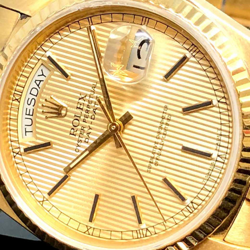 ROLEX Oyster Day-Date 18038 Automatic Unisex ขนาด 36 mm. 1