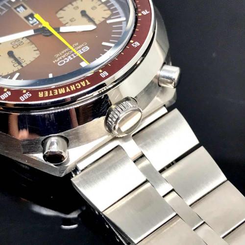 SEIKO Bullhead มดแดง 1970 Automatic Chronograph ขนาด 46x43 mm. 1