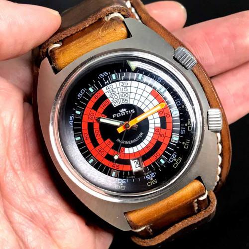 FORTIS Marinemaster Vintage 1960s Diver Automatic Men's Watch ขนาด 42 mm. 4