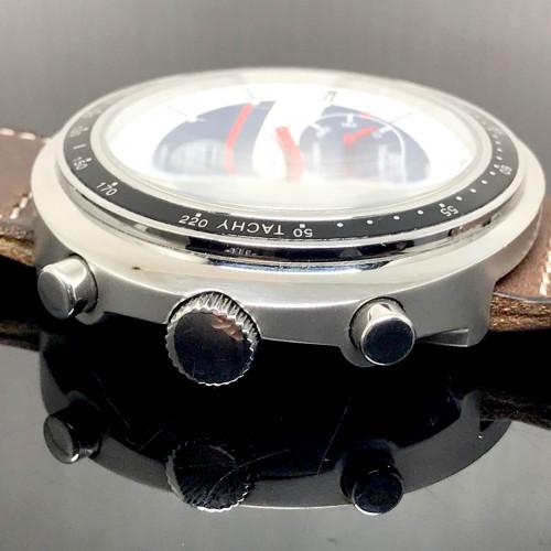 HEUER Sears Vintage 70s Chronograph ระบบไขลาน ขนาดตัวเรือน 45x40 mm. 1