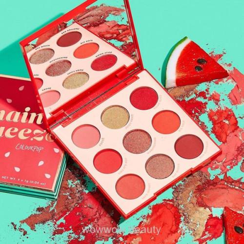 Colour Pop Eye Shadow Palette (Main Squeeze) พาเลทอายแชโดวส์ ของแท้ สีสวยน่ารักมากค่ะ