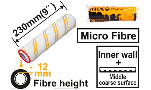 INGCO อะไหล่เฉพาะลูกกลิ้งทาสี 9 นิ้ว รุ่น HRC3323014