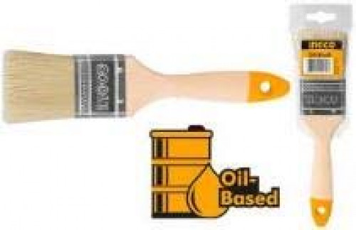 INGCO แปรงทาสี 2.5 นิ้ว ด้ามไม้ รุ่น CHPTB0125
