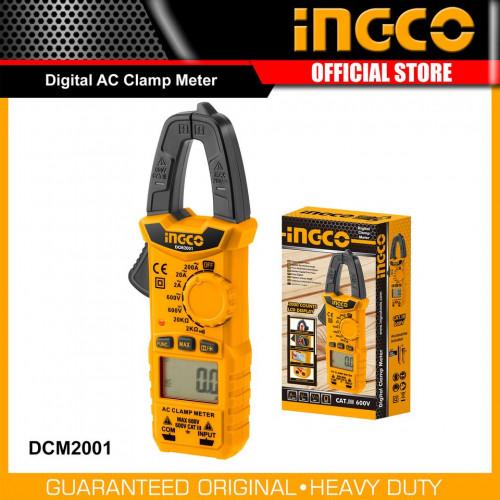 INGCO แคลมมิเตอร์ รุ่น DCM2001